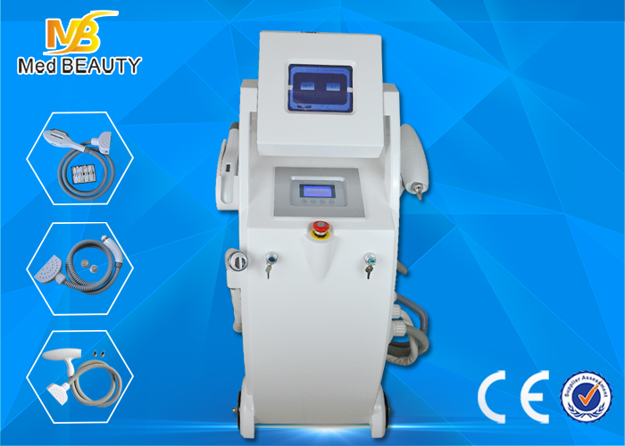 Salon E-Light Ipl RF Hair Removal Machine / Elight Ipl Rf Nd Yag Laser Machine