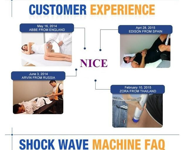 High Power Shockwave Therapy Equipment , Acoustic Shockwave Therapy Machine