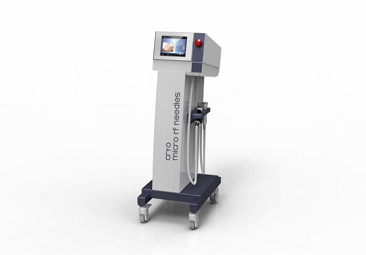 Microneedle Rf Skin Tightening Fractional Laser Machine For Face Lifting / Wrinkle Removal