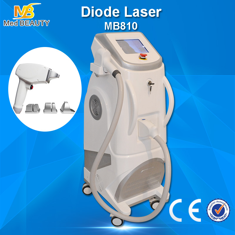 Painless Laser Depilation Machine , hair removal laser equipment FDA / Tga Approved