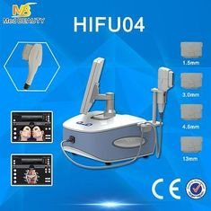 চীন Beauty Laptop HIFU Machine Salon Clinic Spa Machines 2500W 4 J/Cm2 সরবরাহকারী