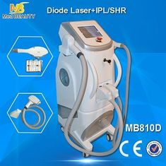 চীন Pain Free Shr + Ipl + Rf Semiconductor Laser Hair Removing Machine White Color সরবরাহকারী