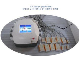 চীন Abs Plastic Lipo Laser Machine Body Slimming , Weight Loss Machine 12 Pads Diodes Lipo Laser সরবরাহকারী