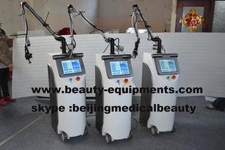 চীন Co2 Fractional Laser With RF Metal Tube 10600nm CO2 Skin Peeling Laser System সরবরাহকারী