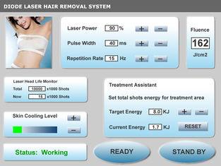 চীন 810nm Diode Laser permanent  Hair Removal Machine সরবরাহকারী